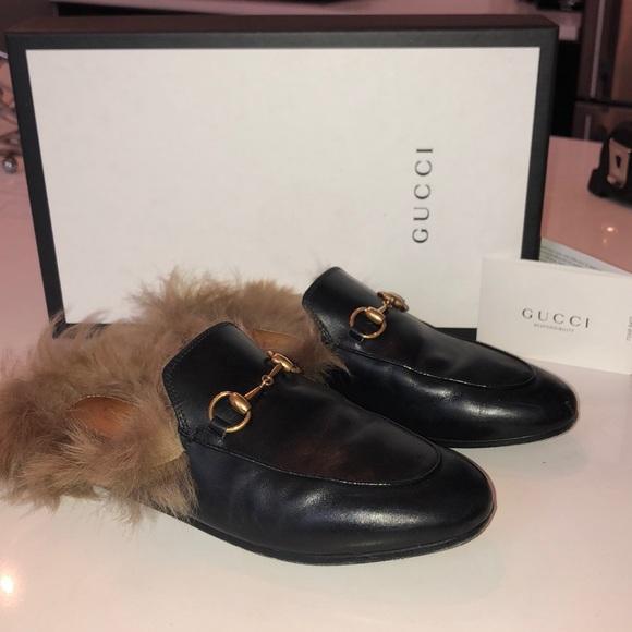 d562ffbc906 Gucci Shoes - Gucci Princeton Fur Mules